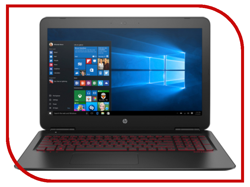 Ноутбук HP Omen 15-ax237ur 3RN15EA ноутбук hp 15 bw535ur 2gf35ea