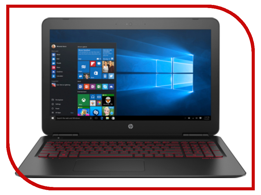 Ноутбук HP Omen 15-ax239ur 3RN17EA Black (Intel Core i7-7700HQ 2.8 GHz/8192Mb/1000Gb + 128Gb SSD/nVidia GeForce GTX 1050Ti 4096Mb/Wi-Fi/Cam/15.6/1920x1080/Windows 10 64-bit) ноутбук acer predator triton 700 pt715 51 78su 15 6 1920x1080 intel core i7 7700hq nh q2ker 003