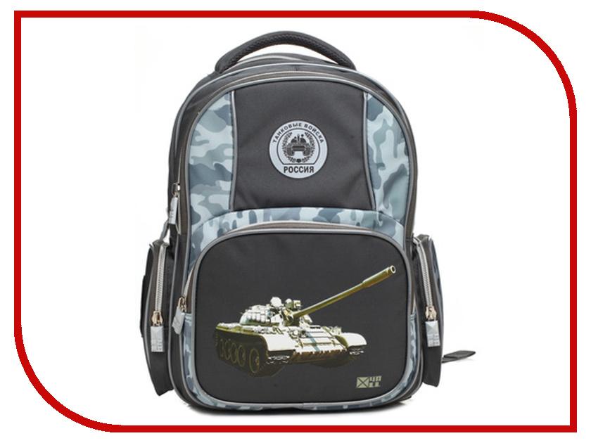 Рюкзак 4ALL Танковые войска РоссииRU 74-03 Dark-Grey diamante 74