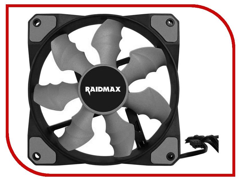 Вентилятор Raidmax RX-120SR-GY Grey 120x120x25mm tokyobay t249 gy