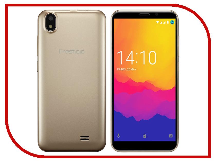 Сотовый телефон Prestigio Wize Q3 Gold PSP3471DUOGOLD смартфон prestigio wize q3 duo blue psp3471