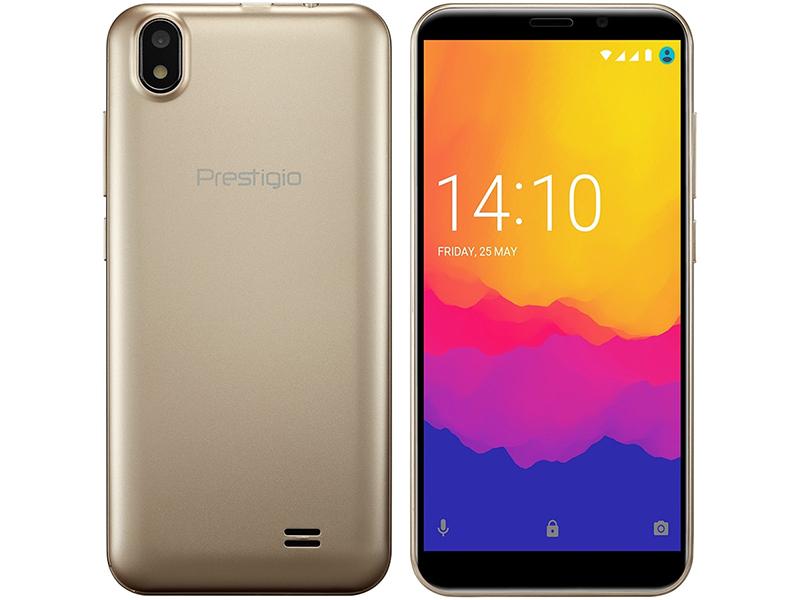 Сотовый телефон Prestigio Wize Q3 Gold PSP3471DUOGOLD цена 2017