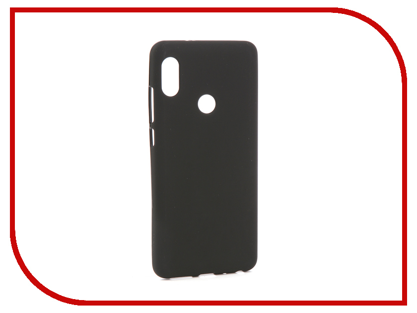 Аксессуар Чехол для Xiaomi Redmi Note 5 /5 Pro Svekla Silicone Black SV-XIREDN5-MBL