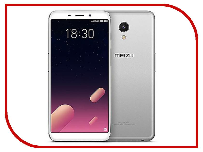 Сотовый телефон Meizu M6S 64Gb Silver city of glass