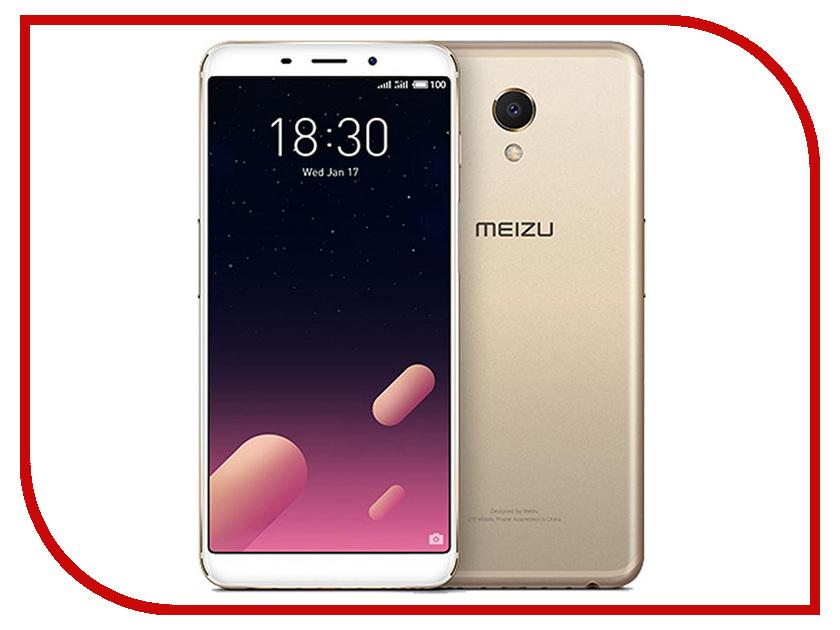 Сотовый телефон Meizu M6S 32Gb Gold сотовый телефон lenovo p780 в мытищах