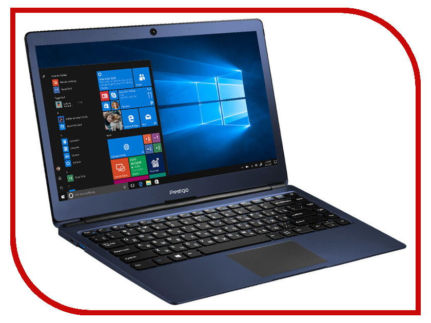 Ноутбук Prestigio SmartBook 133S Blue PSB133S01CFH_BB_CIS (Intel Celeron N3350 1.1 GHz/4096Mb/32Gb/No ODD/Intel HD Graphics/Wi-Fi/Bluetooth/Cam/13.3/1920x1080/Windows 10 64-bit) ноутбук krez n1304 black intel celeron n3350 1 1 ghz 3072mb 32gb no odd intel hd graphics wi fi bluetooth cam 13 3 1920x1080 windows 10 pro