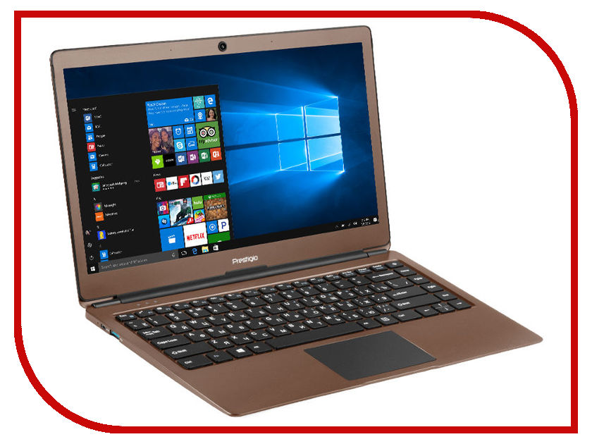 Ноутбук Prestigio SmartBook 133S Dark Brown PSB133S01CFH_DB_CIS (Intel Celeron N3350 1.1 GHz/4096Mb/32Gb/No ODD/Intel HD Graphics/Wi-Fi/Cam/13.3/Windows 10 64-bit) ноутбук prestigio smartbook 133s gppsb133s01zfp dg cis