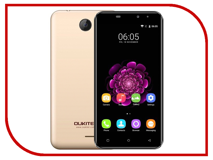 Сотовый телефон Oukitel C9 Gold сотовый телефон oukitel c9 red