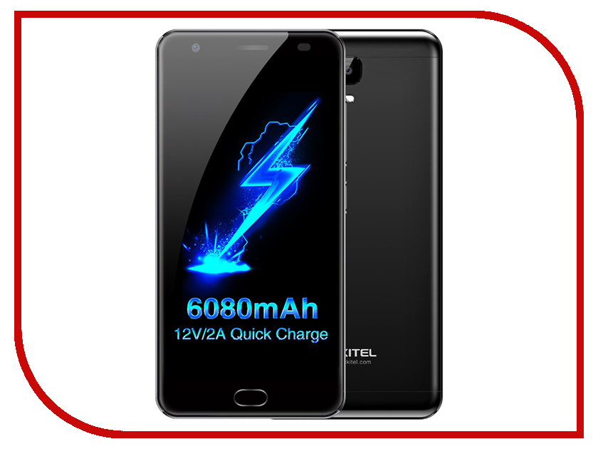 Сотовый телефон Oukitel K6000 Plus Black spain stock oukitel k6000 pro 5 5inch fhd android 6 0 smartphone gold