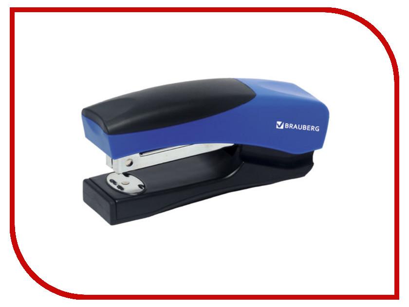 Степлер Brauberg Getze №24/6 до 20л Black-Blue 226866 аксессуар сумка 15 6 brauberg chance black 240458