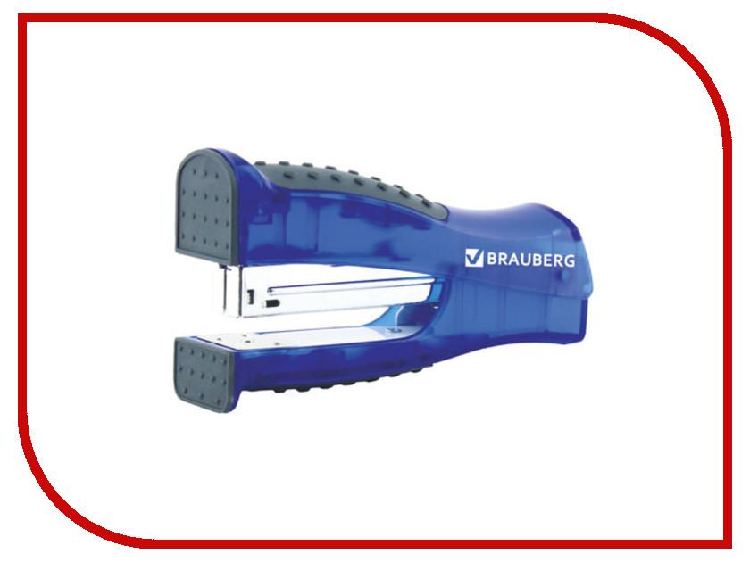 Степлер Brauberg Daten №24/6 до 20л Black-Blue 226864 зонт trust 42372 76 женский полный автомат
