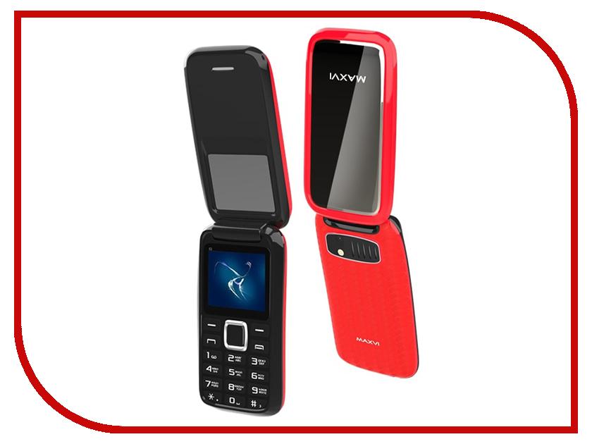 Сотовый телефон MAXVI E2 Red