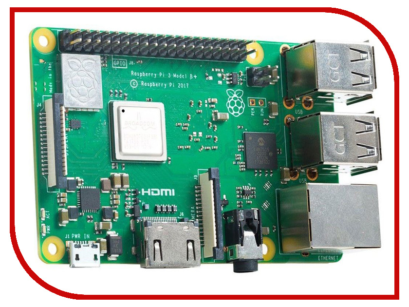 Мини ПК Raspberry Pi 3 Model B Plus raspberry pie 3 b raspberry pi 2 b c type dog bone shell