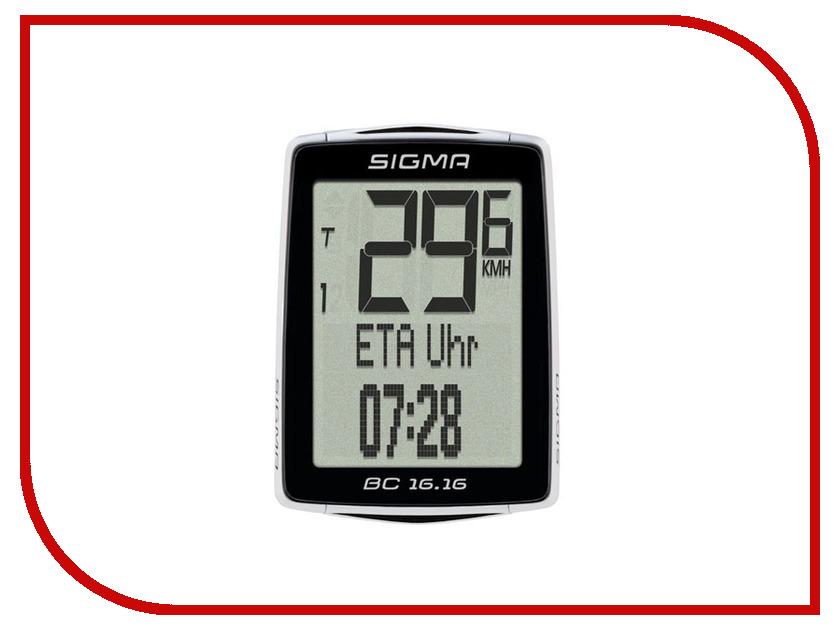 Велокомпьютер Sigma Sport BC 16.16 Topline SIG_01616