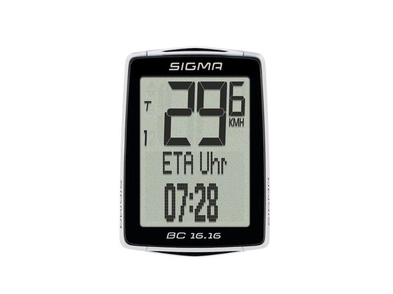 цена на Велокомпьютер Sigma Sport BC 16.16 Topline SIG_01616