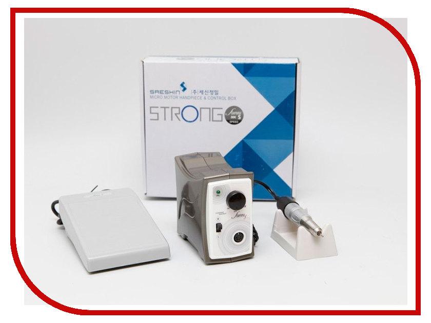 Strong - Аппарат для маникюра и педикюра Strong Aurora 120 с педалью в коробке
