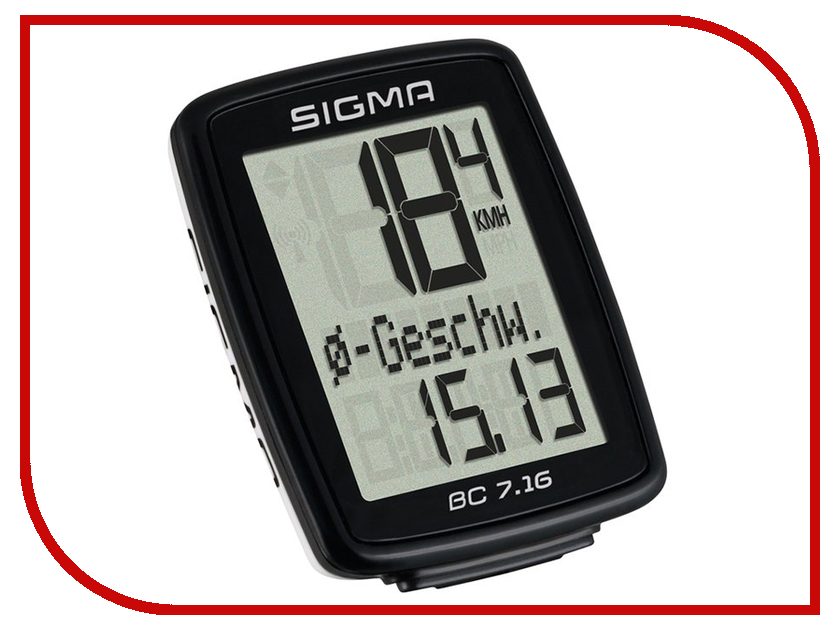 Велокомпьютер Sigma Sport BC 7.16 Topline SIG_07160