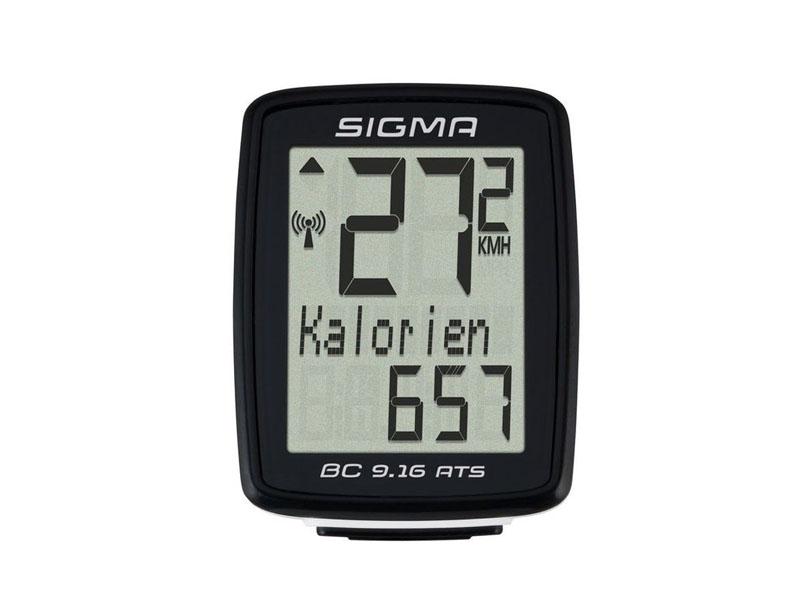 Велокомпьютер Sigma Sport BC 9.16 ATS Topline SIG_09162 велокомпьютер sigma bc 16 16 sts cad беспроводной 16 функций датчик каденса 01618