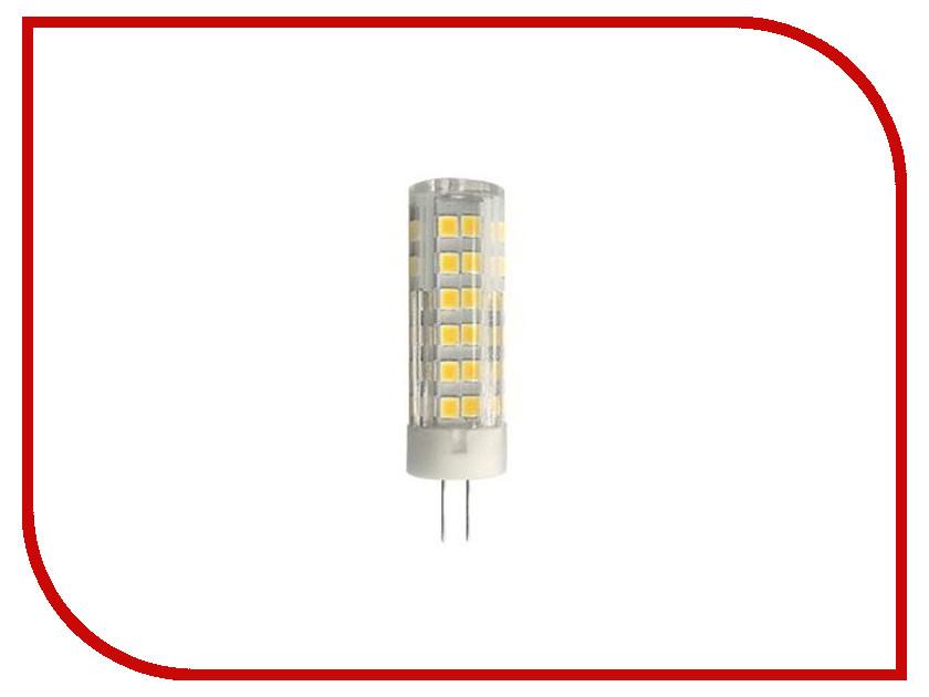 Лампочка Ecola G4 LED 5.5W Corn Micro 220V 4200K G4RV55ELC лампочка ecola led premium g4 4w corn micro 2800k 220v g4kw40elc
