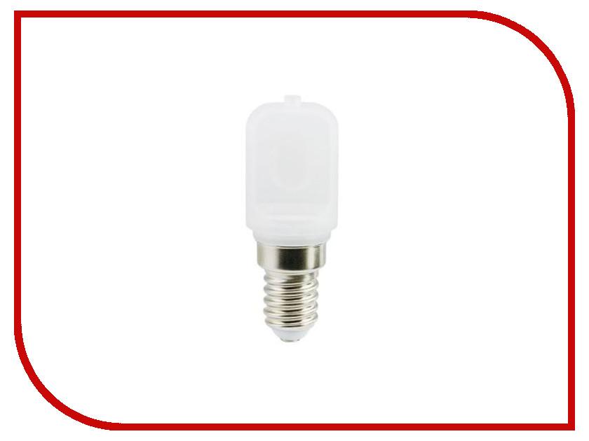 Лампочка Ecola T25 LED Micro E14 4.5W 2700K капсульная, матовая B4UW45ELC