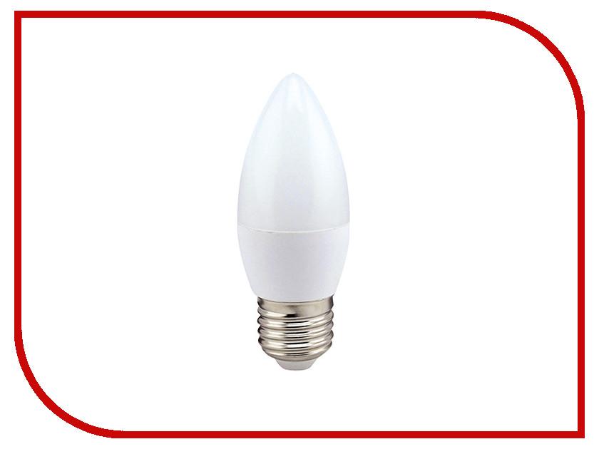 Лампочка Ecola Candle LED Premium 9.0W 220V E27 6000K свеча C7MD90ELC лампочка ecola candle led premium 8 0w 220v e14 2700k прозрачная свеча с линзой c4qw80elc