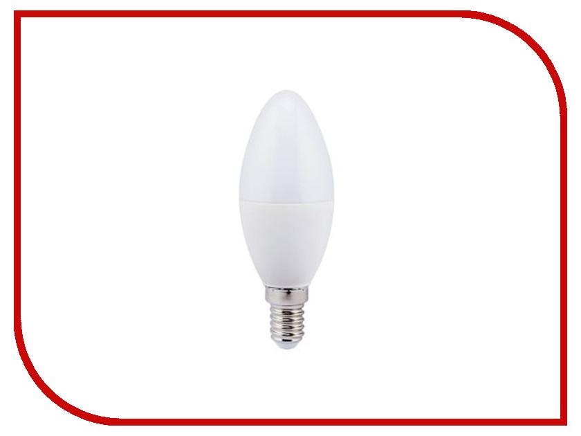 Лампочка Ecola Candle LED 7.0W 220V E14 4000K C4LV70ELC лампочка ecola candle led premium 8 0w 220v e14 2700k прозрачная свеча с линзой c4qw80elc