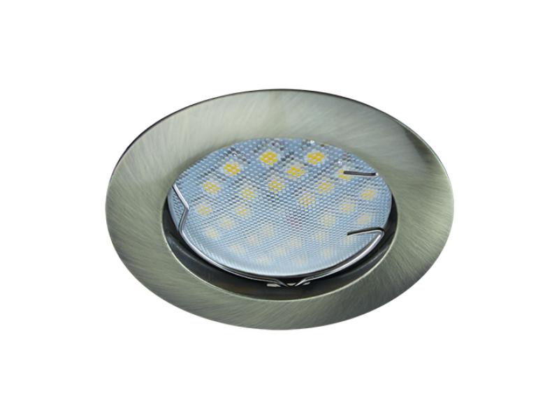 Светильник Ecola MR16 DL100 GU5.3 Black Bronze FA1601EFF