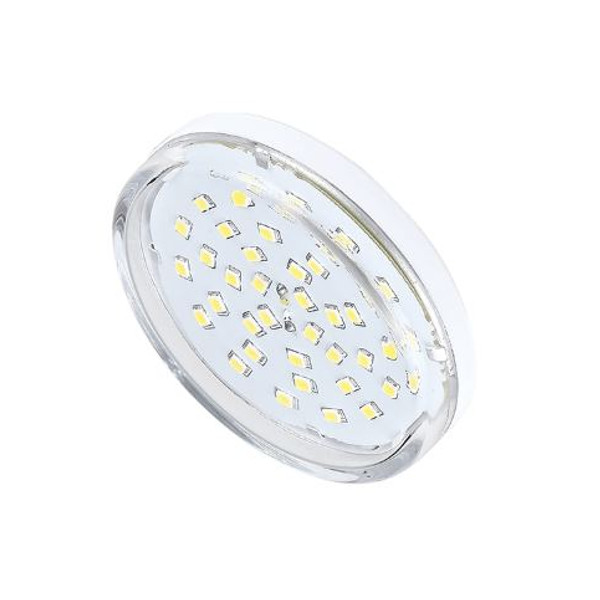 Лампочка Ecola Light GX53 LED 8.0W 220V 4200K прозрачное стекло T5TV80ELC