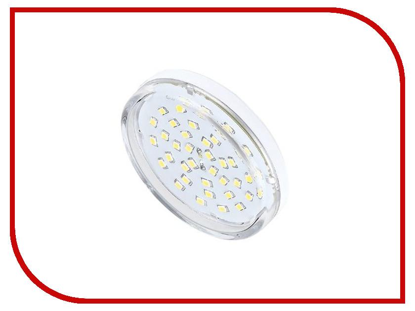 Лампочка Ecola Light GX53 LED 8.0W 220V 2800K прозрачное стекло T5TW80ELC ecola ecola gx53 led 8003a светильник накладной ip65 прозрачный цилиндр металл 1 gx53 белый матовый 114x1