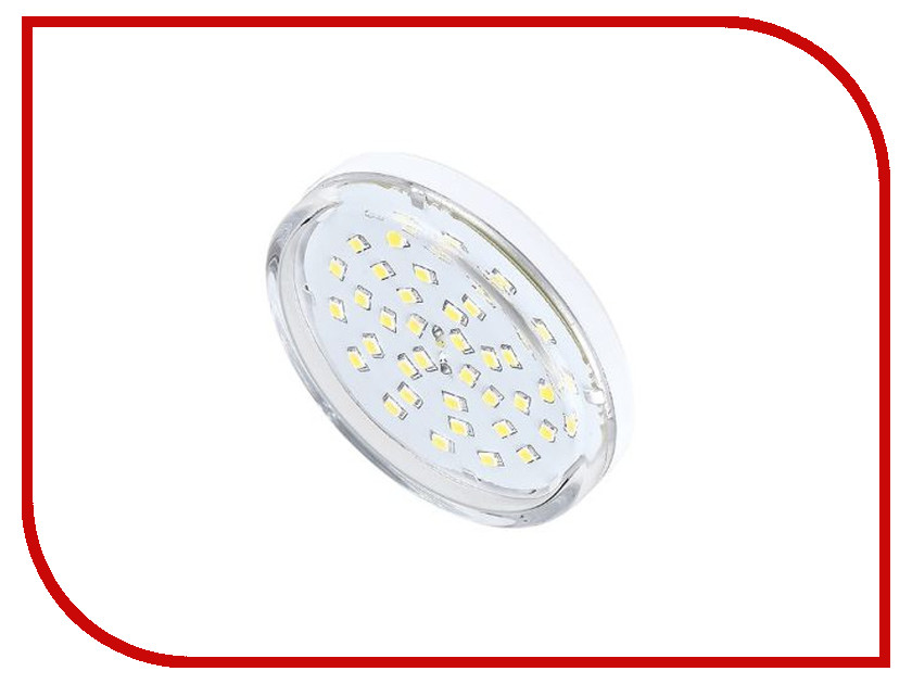 Лампочка Ecola Light GX53 LED 8.0W 220V 2800K прозрачное стекло T5TW80ELC modern 2w 180lm 2800k 2 led up