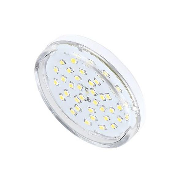Лампочка Ecola Light GX53 LED 8.0W 220V 2800K прозрачное стекло T5TW80ELC