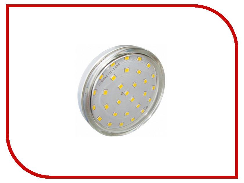 Лампочка Ecola Light GX53 LED 6.0W 220V 2800K прозрачное стекло T5TW60ELC