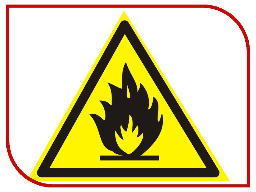 Фолиант Знак Пожароопасно. Легковоспламеняющиеся вещества W01