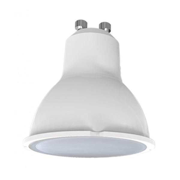 Лампочка Ecola Light Reflector GU10 LED 5.0W 220V 4200K матовое стекло TR4V50ELC