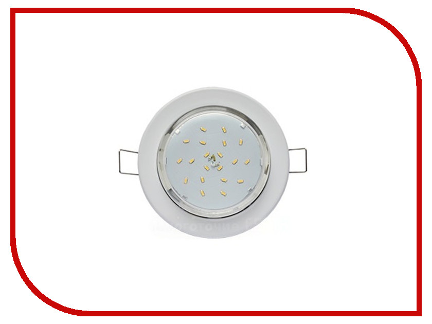 Светильник Ecola Light GX53-H6 White TW5325ECB ecola ecola gx53 led 8003a светильник накладной ip65 прозрачный цилиндр металл 1 gx53 белый матовый 114x1