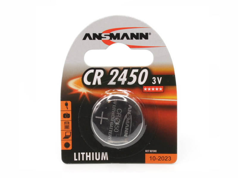 Батарейка CR2450 - Ansmann 3V BL1 — CR2450