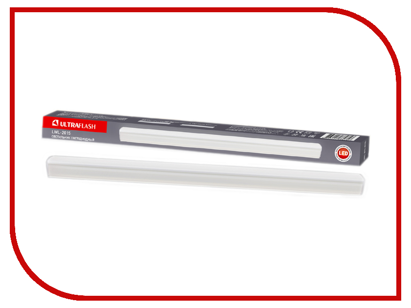 Светильник UltraFlash LWL-2015-04CL skinny belt with bag