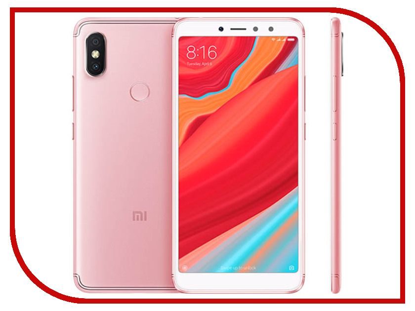 Сотовый телефон Xiaomi Redmi S2 3/32GB Rose Gold профессиональная активная акустика behringer eurolive b212d black