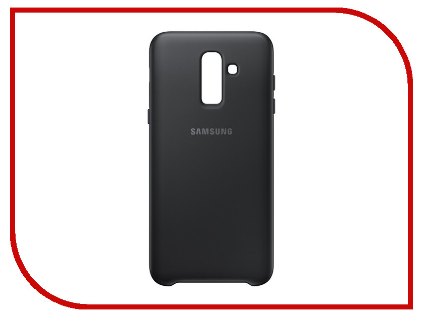 Аксессуар Чехол Samsung SM-J810 Galaxy J8 Dual Layer Cover Black EF-PJ810CBEGRU стоимость
