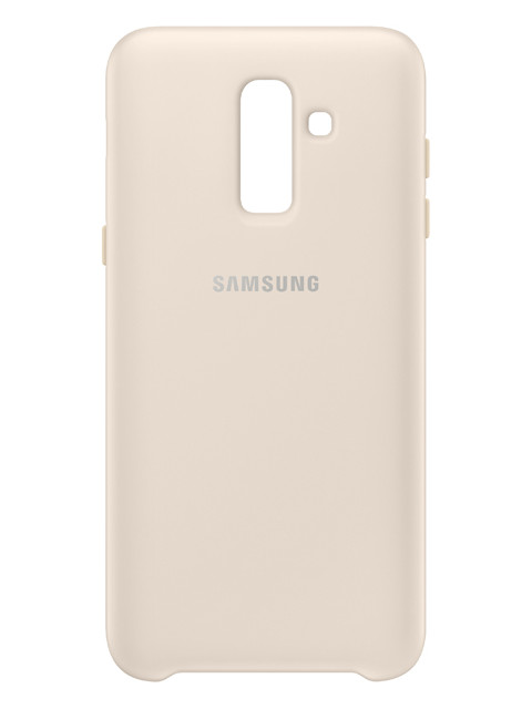 Чехол Samsung SM-J810 Galaxy J8 Dual Layer Cover Gold EF-PJ810CFEGRU купить недорого в Москве