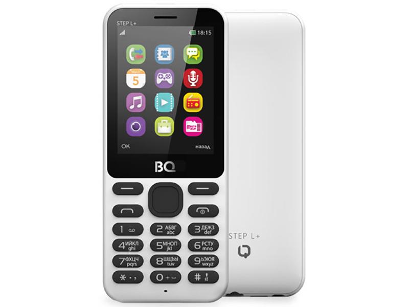 Сотовый телефон BQ BQ-2431 Step L+ White цена и фото