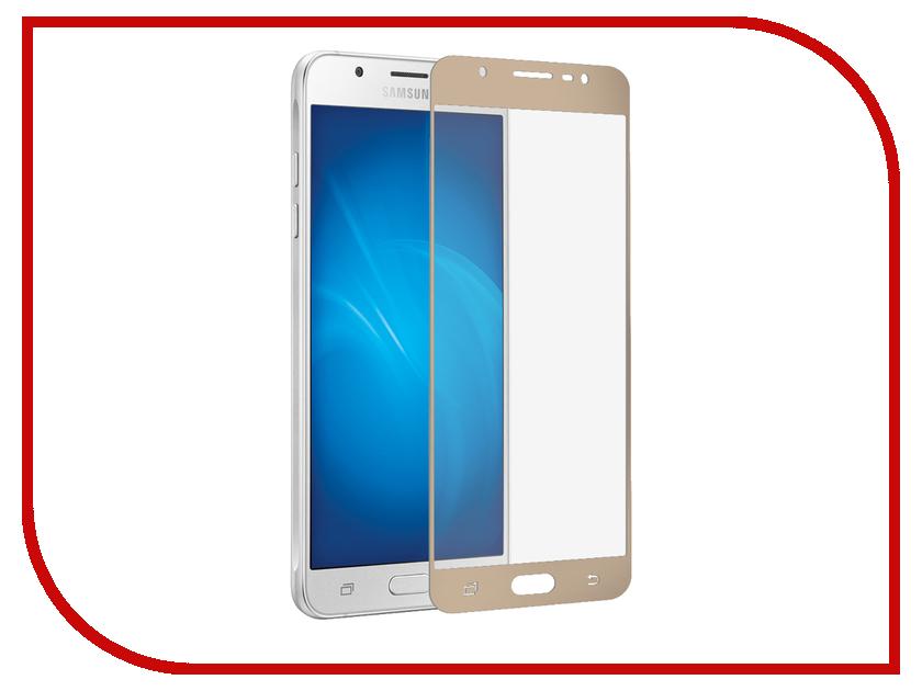 Аксессуар Защитное стекло для Samsung Galaxy J5 2016 Pero 2.5D Gold PRMG-GJ516G аксессуар защитное стекло samsung galaxy core 2 sm g355 krutoff 0 26mm 21941