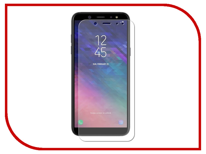 Аксессуар Защитное стекло для Samsung Galaxy A6 Pero PRSG-A618 кочергина е ванечка и сом