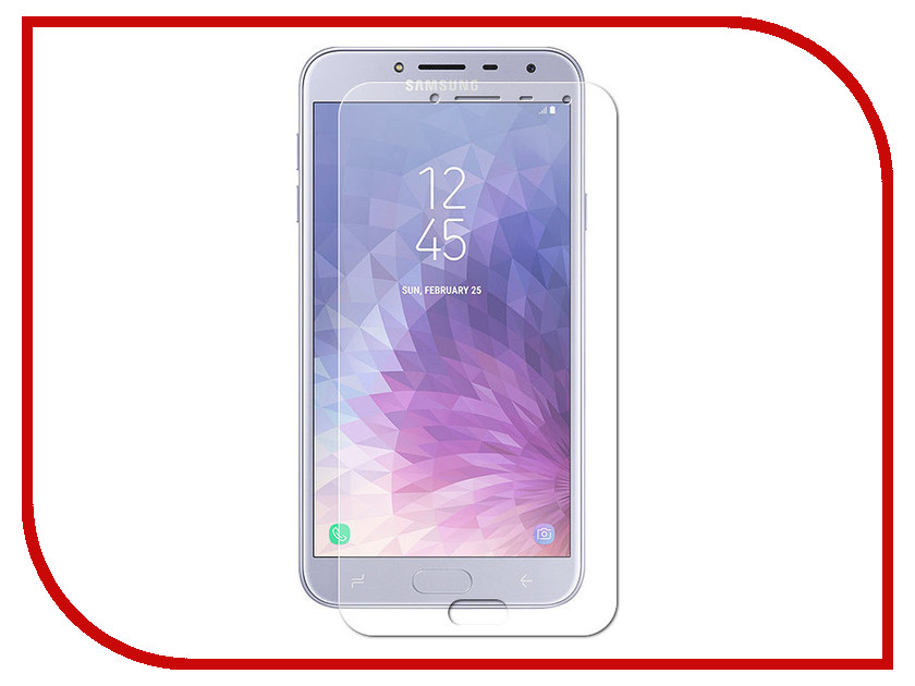 Аксессуар Защитное стекло для Samsung Galaxy J4 2018 Pero PRSG-J418 аксессуар защитное стекло samsung galaxy core 2 sm g355 krutoff 0 26mm 21941