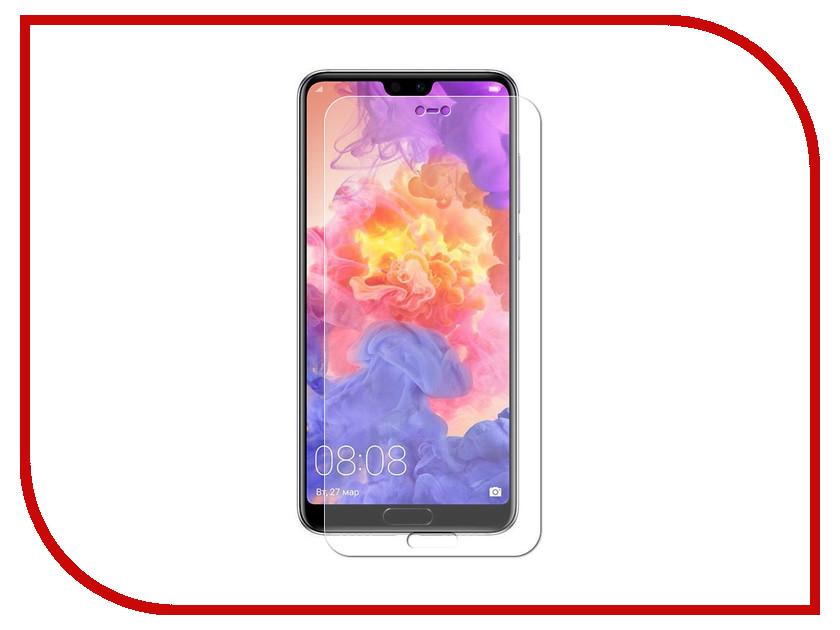 Аксессуар Защитное стекло для Huawei P20 Pro Pero PRSG-HP20P кейс для назначение huawei p20 pro p20 бумажник для карт мешочек однотонный мягкий настоящая кожа для huawei p20 lite huawei p20 pro