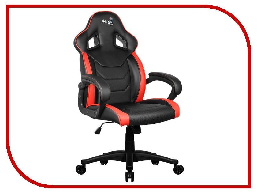 Компьютерное кресло AeroCool AC60C Air-BR Black-Red компьютерное кресло tesoro zone balance f710 black red ts f710rd