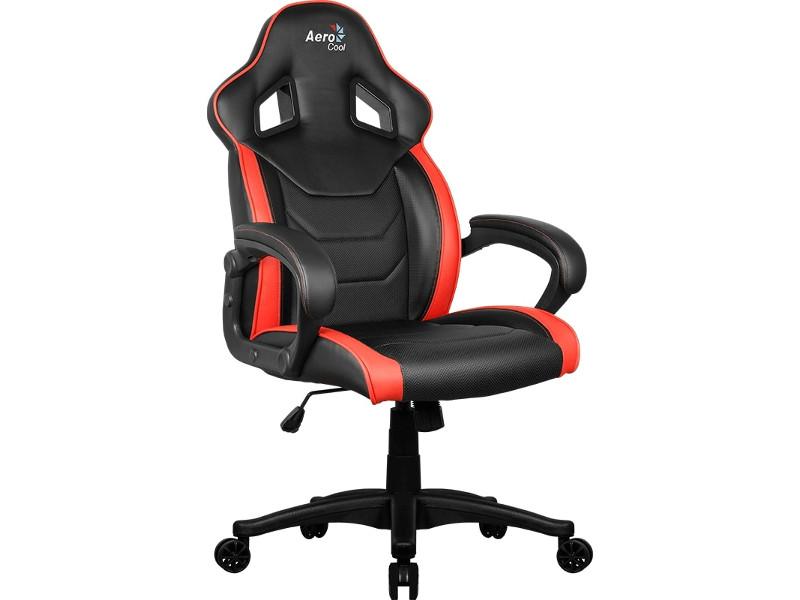 Компьютерное кресло AeroCool AC60C AIR-BR Black-Red кресло для геймера aerocool ac60c air bg черно зеленое
