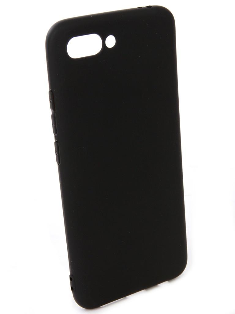 Чехол Pero для Honor 10 Soft Touch Black PRSTC-H10B