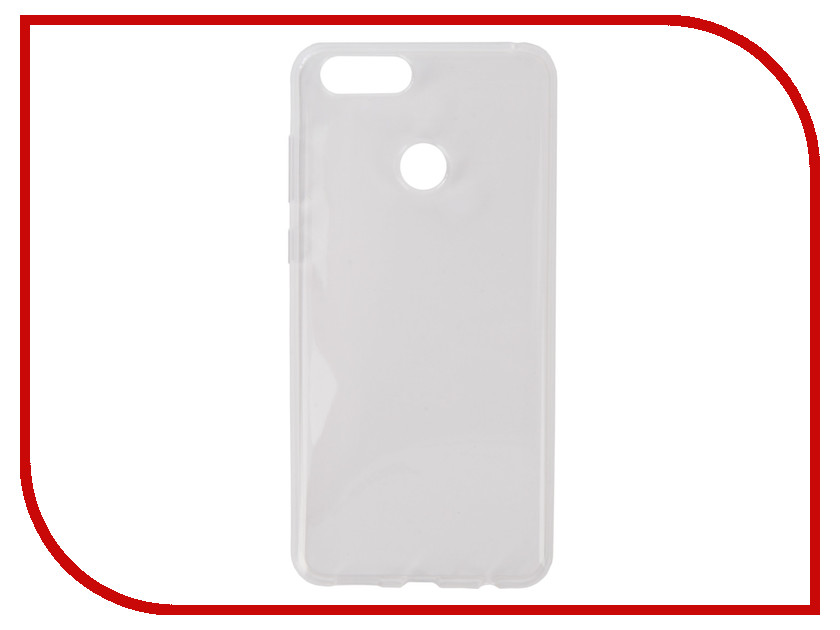Аксессуар Чехол для Huawei Honor 7X Pero Silicone Transparent PRSLC-H7XTR mooncase чехол для huawei ascend p8 wallet card slot with kickstand flip leather back white