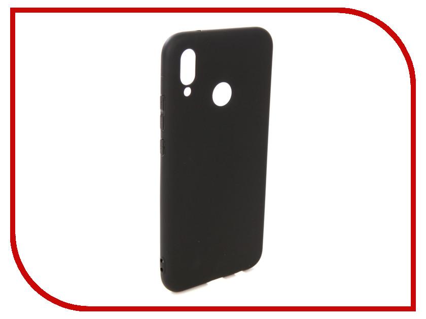 Аксессуар Чехол для Huawei P20 Lite Pero Soft Touch Black PRSTC-P20LB аксессуар чехол для nokia 5 1 pero black prstc n51b